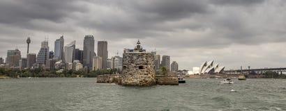 Fort denison à Sydney Photo libre de droits