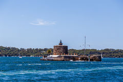 Fort Denison in Sydney Lizenzfreie Stockfotos