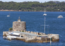 Fort denison in Sydney Stock Afbeeldingen