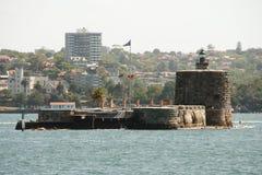 Fort Denison - Sydney - Australien Royaltyfri Foto