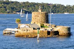 Fort Denison, Sydney Harbour, Australië Royalty-vrije Stock Afbeelding