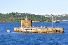 Fort Denison, Sydney Harbour, Australia Stock Photography