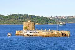 Fort Denison, Sydney Harbour, Australien Arkivbild