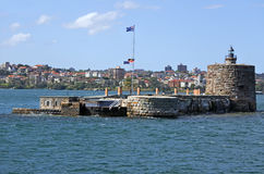 Fort Denison Sydney New South Wales Australia Royaltyfri Bild