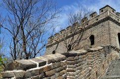 Fort der Chinesischer Mauer Stockfotos