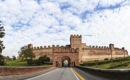 Fort der ummauerten Stadt Cittadella Stockfotos