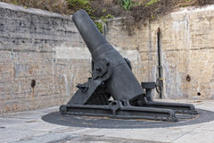 Fort DeSoto Cannon Royalty Free Stock Photo