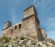 Fort Diosgyor des seitlichen Anblicks stockbild