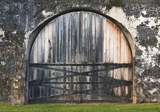 Fort Door Royalty Free Stock Photography