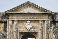 Fort doorway. Fort San Felipe del Morro doorway in Old San Juan, Puerto RIco Stock Images