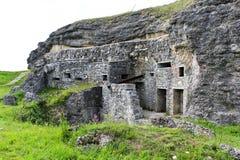 Fort Douaumont, Verdun, Frankrijk royalty-vrije stock foto