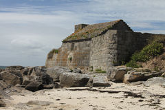 Fort du Cabellou, Southern Brittany Stock Photo