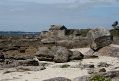 Fort du Cabellou, Southern Brittany Royalty Free Stock Photos