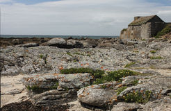 Fort du Cabellou, Southern Brittany Stock Photography
