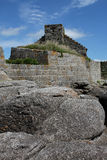 Fort du Cabellou, Southern Brittany Royalty Free Stock Photography