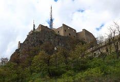Fort du Chateau, Briancon, Frankreich Stockbilder