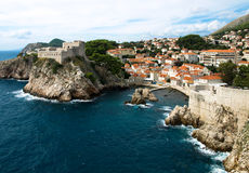 Fort in Dubrovnik Royalty Free Stock Images