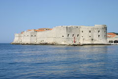 Fort in Dubrovnik Stockbild