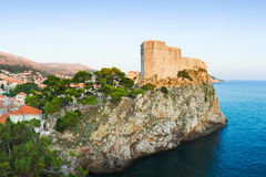 Fort at Dubrovnik, Croatia Royalty Free Stock Images