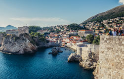 Fort in Dubrovnik Stock Photos