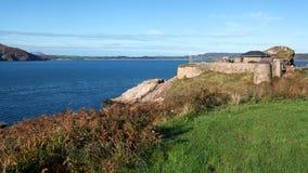 Fort Dunree, Inishowen półwysep obraz stock