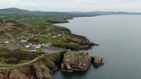 Fort Dunree an Dunree-Kopf in Irland stock footage