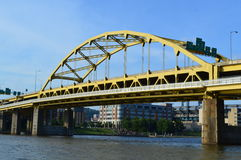 Fort Duquesne Bridge stock image