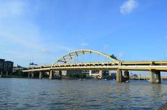 Fort Duquesne Bridge Pittsburgh Stock Photo