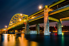 Fort Duquesne Bridge Stock Photo
