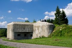 Fort in Eastern Bohemia Royalty Free Stock Photo