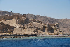 Fort in Egypt Royalty Free Stock Photos