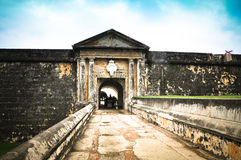 Fort-EL Morro - Puerto Rico stockfotografie