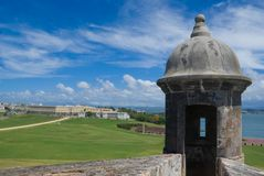 Fort-EL Morro - Puerto Rico Stockfotos