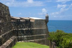 Fort El Morro - San Juan - Puerto Rico Stock Photo
