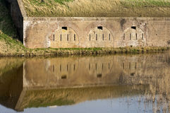 Fort Ellewoutsdijk in south Beveland, Netherlands Stock Photo