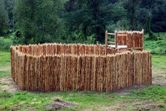 Fort en bois Images libres de droits
