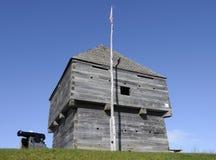 Fort en bois au Canada Photos libres de droits