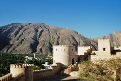 Fort en Oman Photographie stock libre de droits