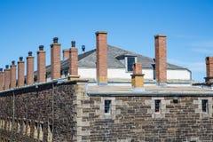 Fort en pierre sous le ciel bleu images stock