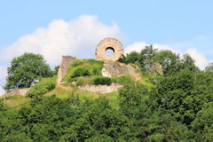Fort of Engelbourg in Alsace Stock Image