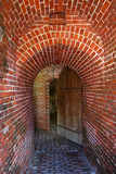 Fort Entrance. Entrance to the main tower of an old Civil War fort in Key West Royalty Free Stock Photography
