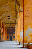 Fort entrance columns Stock Photography