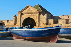 Fort in Essaouira Royalty Free Stock Images