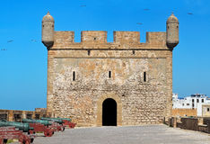 Fort in Essaouira Royalty Free Stock Photography