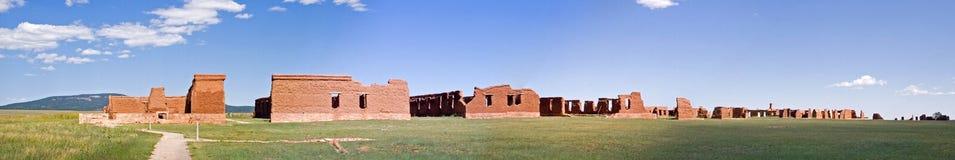 fort europejskiej panoramy Obraz Royalty Free
