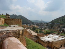 Fort. Fascinating views of Amber fort Jaipur Royalty Free Stock Image