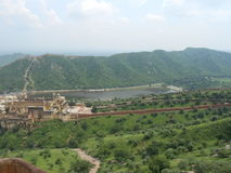 Fort. Fascinating views of Amber fort Jaipur Stock Photo