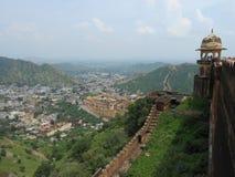 Fort. Fascinating views of Amber fort Jaipur Royalty Free Stock Image