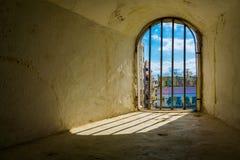 Fort-Fenster Lizenzfreie Stockfotos