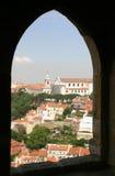 Fort-Fenster-Ansicht Stockbilder
